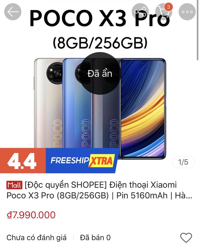 Shopee Việt Nam để lộ smartphone sắp ra mắt của Xiaomi: Chip Snapdragon đầu 8, giá chưa đến 8 triệu đồng - Ảnh 5.