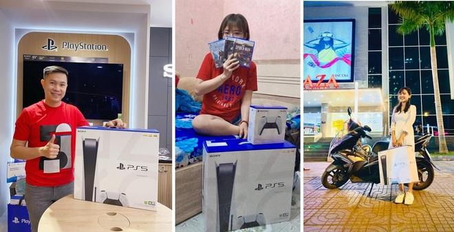 Người hào hứng khoe máy, kẻ bán gấp PS5 trong đêm - Ảnh 1.