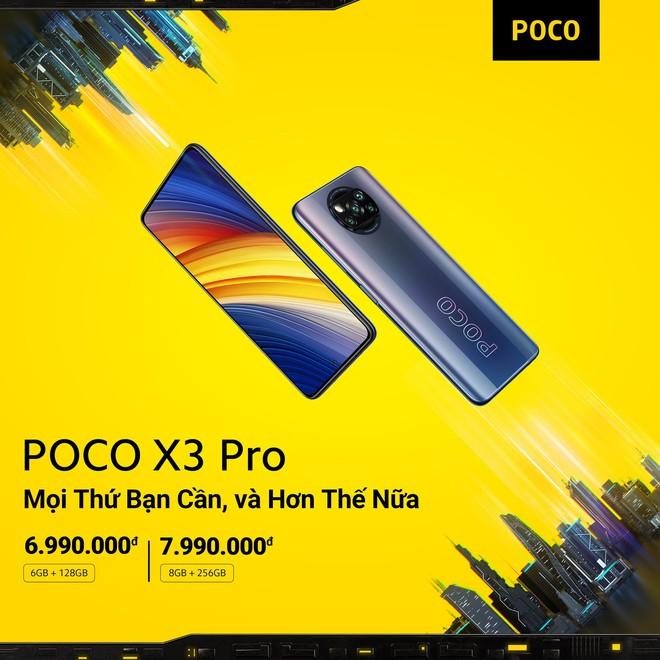 POCO F3 và POCO X3 Pro ra mắt tại VN: Snapdragon 870/860, màn hình 120Hz, giá từ 9.99/6.99 triệu đồng - Ảnh 5.