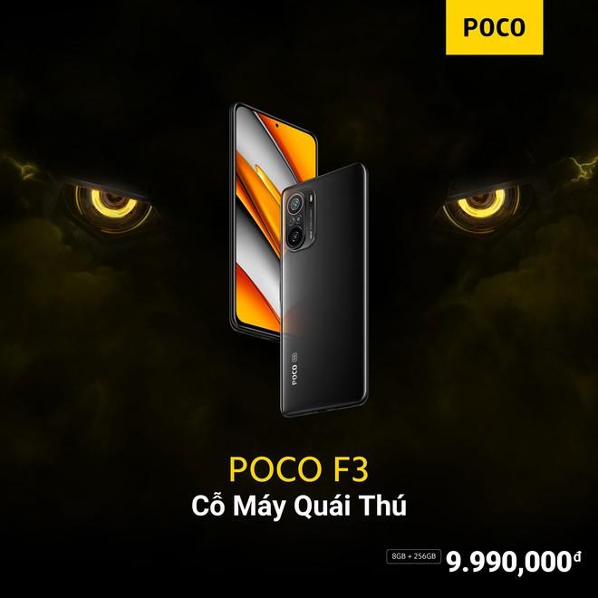 POCO F3 và POCO X3 Pro ra mắt tại VN: Snapdragon 870/860, màn hình 120Hz, giá từ 9.99/6.99 triệu đồng - Ảnh 3.