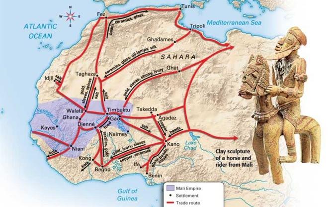 Đây là vương quốc kiểm soát vàng trong thế giới cổ đại, người dân không cần làm mà vẫn có ăn - Ảnh 2.