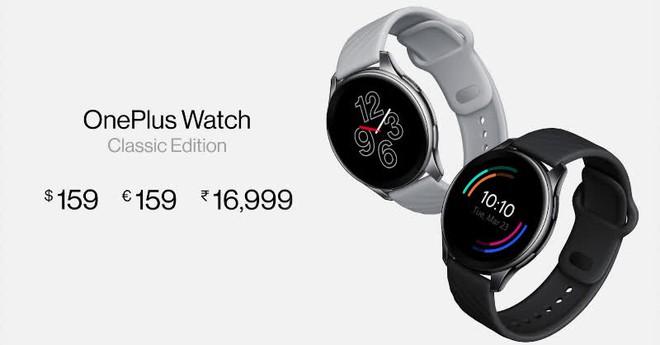 OnePlus Watch ra mắt: Thiết kế giống OPPO Watch RX, màn hình OLED, IP68, pin 2 tuần, giá 159 USD - Ảnh 5.