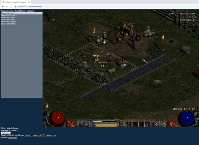 Mời chơi thử Diablo II trên nền web do coder Việt phát triển: độ trễ thấp, nhiều server để chọn lựa, còn có cả StarCraft và Road Rash để bạn thử tài - Ảnh 5.