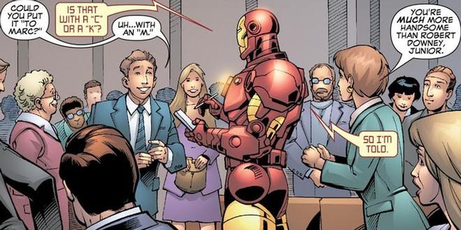 """Marvel Comics """"troll"""" Robert Downey Jr. không đủ đẹp trai để vào vai Iron Man, 10 năm sau RDJ mới thèm trả lời - Ảnh 2."""