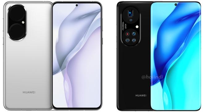 Huawei P50 Pro+ lộ diện: Màn hình thác nước, cụm 5 camera hình bầu dục siêu to khổng lồ - Ảnh 1.