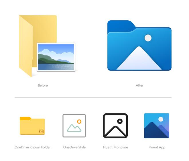 Windows 10 cập nhật các icon File Explorer mới, bắt đầu một cuộc đại tu thiết kế - Ảnh 3.