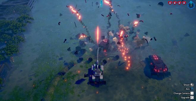Tank Brawl 2, game bắn tăng hoàn toàn do người Việt phát triển ra mắt vào 27/3: vũ khí đa dạng, môi trường phá hủy được, cho phép 4 người cùng phá đảo - Ảnh 4.