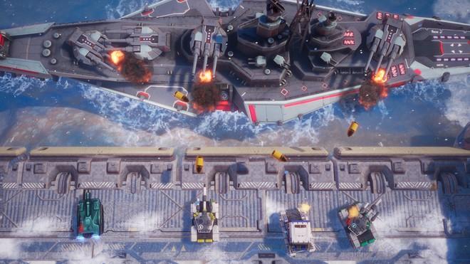 Tank Brawl 2, game bắn tăng hoàn toàn do người Việt phát triển ra mắt vào 27/3: vũ khí đa dạng, môi trường phá hủy được, cho phép 4 người cùng phá đảo - Ảnh 5.