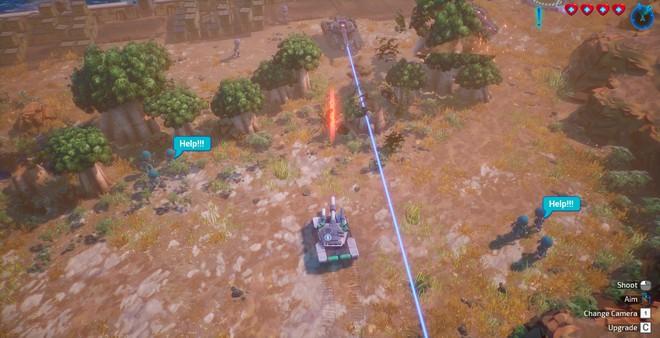 Tank Brawl 2, game bắn tăng hoàn toàn do người Việt phát triển ra mắt vào 27/3: vũ khí đa dạng, môi trường phá hủy được, cho phép 4 người cùng phá đảo - Ảnh 6.