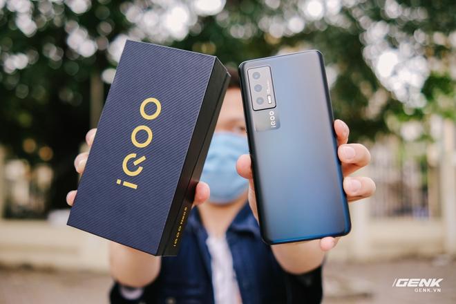 Trên tay iQOO Neo5 tại VN: Đối thủ cạnh tranh của Redmi K40, tập trung vào gaming, giá 9.9 triệu đồng - Ảnh 23.