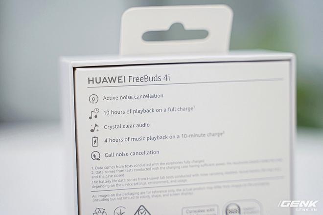 Trên tay nhanh Huawei Freebuds 4i: Còn gì hot ngoài tính năng chống ồn chủ động? - Ảnh 5.
