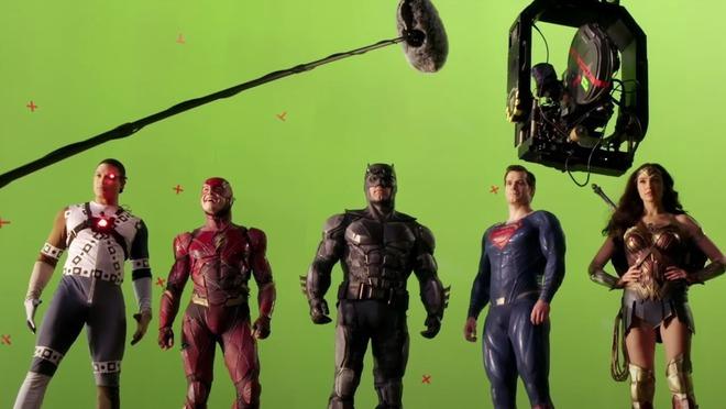 Hậu trường Justice League: Các siêu anh hùng nhà DC sẽ như thế nào khi chưa qua xử lý CGI và kỹ xảo điện ảnh? - Ảnh 18.