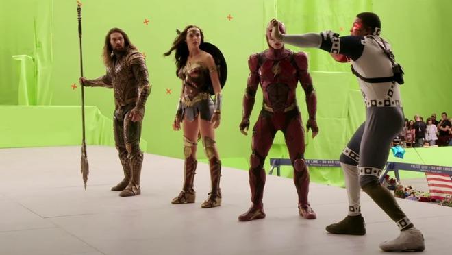 Hậu trường Justice League: Các siêu anh hùng nhà DC sẽ như thế nào khi chưa qua xử lý CGI và kỹ xảo điện ảnh? - Ảnh 9.