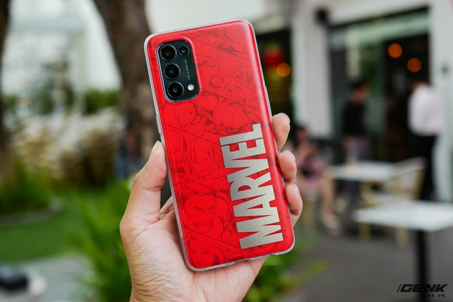 Trên tay OPPO Reno5 phiên bản Marvel Edition đặc biệt: Giá 9.7 triệu, bán giới hạn chỉ 2000 chiếc - Ảnh 5.