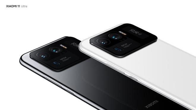 Xiaomi Mi 11 Ultra ra mắt: Mặt lưng gốm, hai màn hình AMOLED, camera zoom 120X, sạc nhanh 67W, chống nước IP68, giá từ 21 triệu đồng - Ảnh 3.