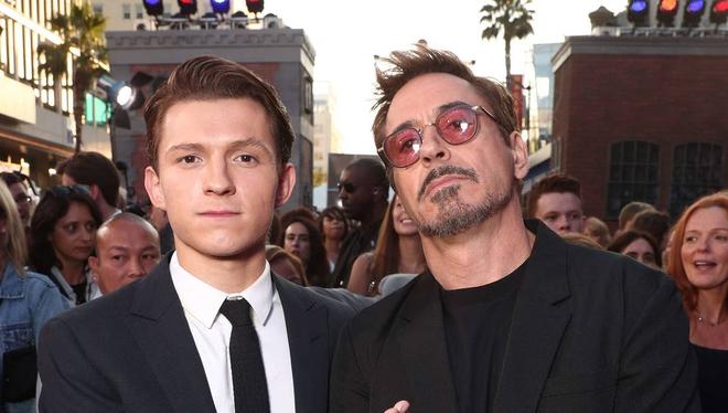 """Đi thử vai Spider-Man, Tom Holland hí hửng trò chuyện với """"chú Stark"""", nhưng hóa ra đó chỉ là diễn viên đóng thế cho Robert Downey Jr. - Ảnh 2."""