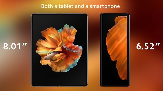 Xiaomi ra mắt smartphone màn hình gập Mi MIX Fold: Thiết kế giống Z Fold2, công nghệ ống kính dạng lỏng, giá từ 35 triệu đồng - Ảnh 4.