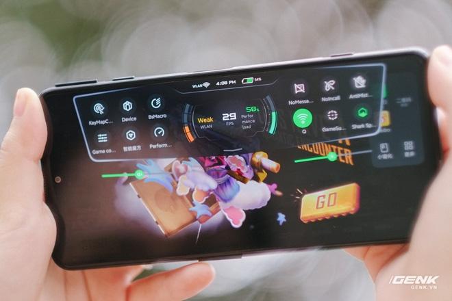 Trên tay Black Shark 4 tại VN: Giá dưới 10 triệu nhưng cấu hình khoẻ, nhiều tính năng chơi game độc quyền, có sạc siêu nhanh 120W - Ảnh 19.
