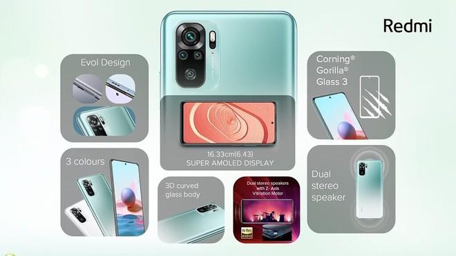 Redmi Note 10 series ra mắt: Snapdragon 678/732G, màn hình AMOLED 120Hz, camera lên tới 108MP, pin 5000mAh, giá chỉ từ 3.8 triệu đồng - Ảnh 2.