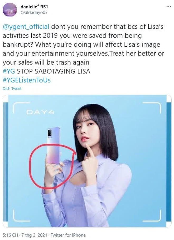 Lisa (Blackpink) chụp ảnh quảng cáo cho vivo, tưởng hay nhưng gặp phốt Photoshop siêu ẩu làm hỏng tất cả - Ảnh 6.