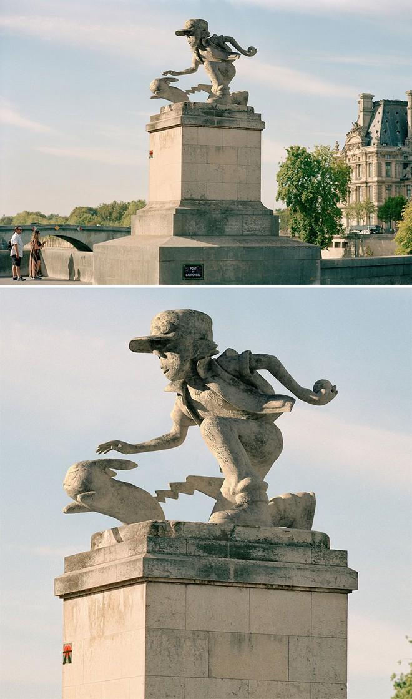 Nhiếp ảnh gia chụp ảnh đài tưởng niệm rồi dùng CGI để thay thế bằng hàng loạt nhân vật đình đám của văn hóa đại chúng - Ảnh 4.