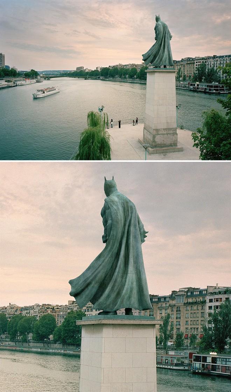 Nhiếp ảnh gia chụp ảnh đài tưởng niệm rồi dùng CGI để thay thế bằng hàng loạt nhân vật đình đám của văn hóa đại chúng - Ảnh 1.