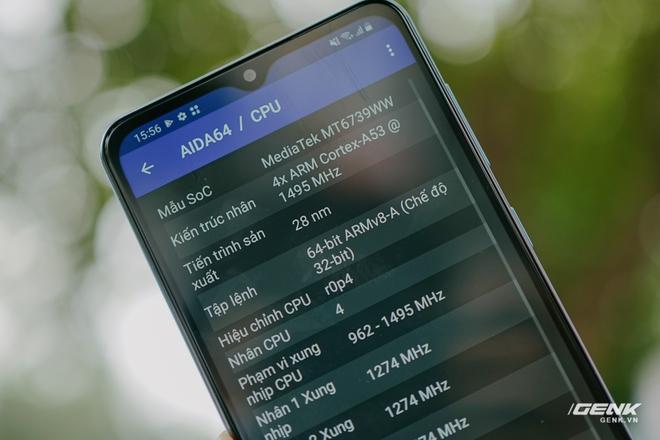 Trên tay Galaxy A02: Smartphone giá rất rẻ, pin rất trâu của Samsung - Ảnh 12.