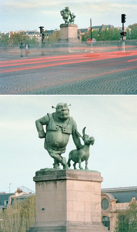 Nhiếp ảnh gia chụp ảnh đài tưởng niệm rồi dùng CGI để thay thế bằng hàng loạt nhân vật đình đám của văn hóa đại chúng - Ảnh 12.