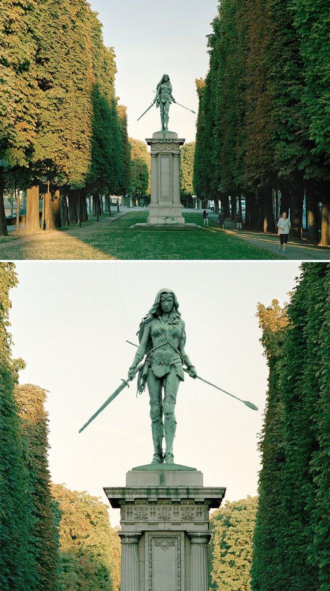 Nhiếp ảnh gia chụp ảnh đài tưởng niệm rồi dùng CGI để thay thế bằng hàng loạt nhân vật đình đám của văn hóa đại chúng - Ảnh 7.