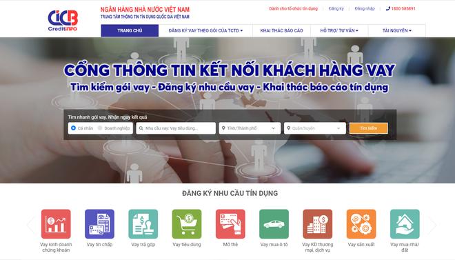Muốn biết mình có lịch sử nợ xấu hay không, người dùng Việt có thể tự truy cập website này để tra cứu - Ảnh 2.
