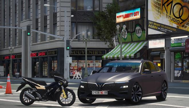 Sau hơn 1 năm tự mày mò thiết kế, nhóm modder Việt đưa VinFast LUX A2.0 vào GTA V - Ảnh 9.