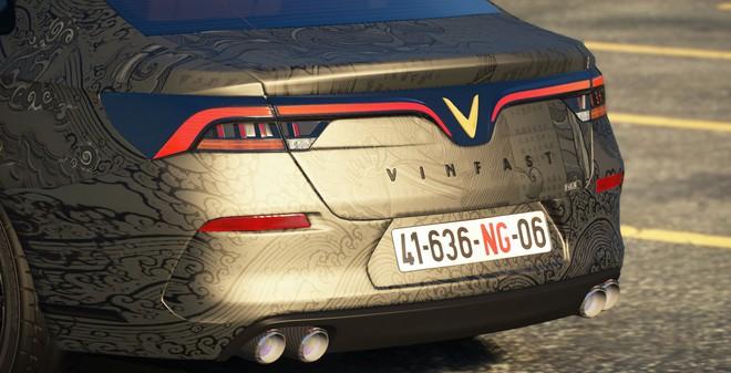 Sau hơn 1 năm tự mày mò thiết kế, nhóm modder Việt đưa VinFast LUX A2.0 vào GTA V - Ảnh 6.