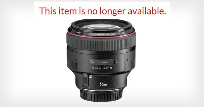 Canon ngừng sản xuất hàng loạt ống kính EF, dấu hiệu của việc từ bỏ thị trường máy ảnh DSLR? - Ảnh 1.