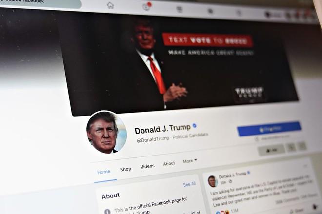 Mượn tài khoản con dâu để đăng video, ông Trump bị Facebook cấm lần thứ 2 - Ảnh 1.