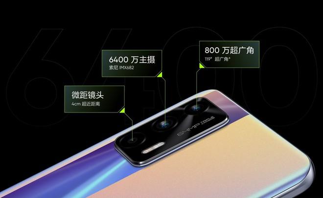 Realme GT Neo ra mắt: Thiết kế không đổi, màn hình AMOLED 120Hz, chip Dimensity 1200, pin 4500mAh, giá từ 6.3 triệu đồng - Ảnh 3.