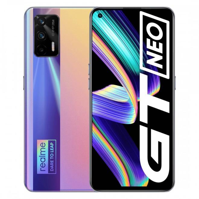 Realme GT Neo ra mắt: Thiết kế không đổi, màn hình AMOLED 120Hz, chip Dimensity 1200, pin 4500mAh, giá từ 6.3 triệu đồng - Ảnh 2.