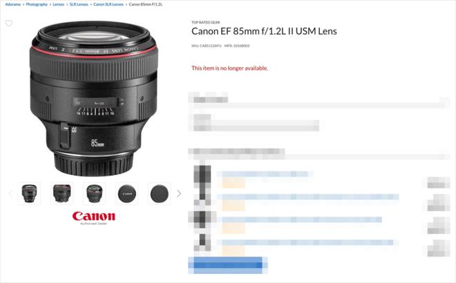 Canon ngừng sản xuất hàng loạt ống kính EF, dấu hiệu của việc từ bỏ thị trường máy ảnh DSLR? - Ảnh 2.