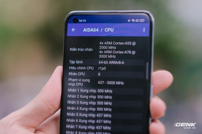 Trên tay Realme GT Neo: Màn hình AMOLED 120Hz, chip Dimensity 1200, sạc nhanh 50W, giá chưa đến 7 triệu đồng - Ảnh 12.