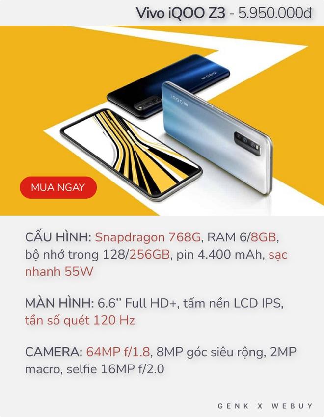 Gợi ý 4 smartphone màn hình 120Hz giá từ 6 triệu để cảm nhận sự mượt mà không cháy ví - Ảnh 2.