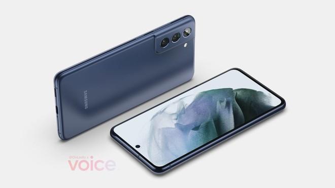Samsung Galaxy S21 FE lộ diện, thay đổi nhỏ ở cụm camera - Ảnh 1.