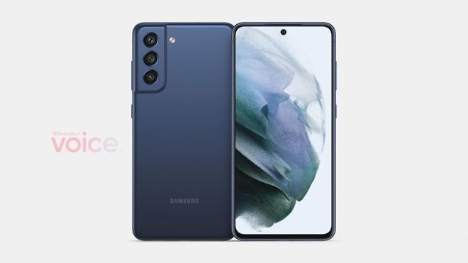 Samsung Galaxy S21 FE lộ diện, thay đổi nhỏ ở cụm camera - Ảnh 2.