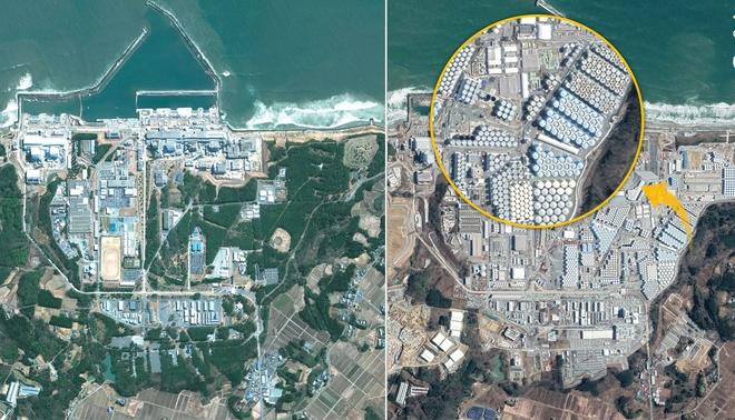 Phối cảnh vệ tinh cho thấy tác động việc xả nước thải hạt nhân ra biển của Nhật Bản sẽ đáng sợ tới mức nào - Ảnh 4.