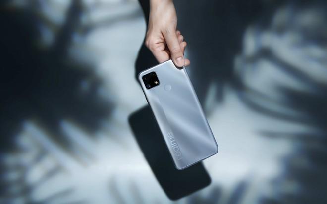 Realme C25 ra mắt tại VN: Thiết kế trẻ trung, cụm 3 camera 48MP, pin khủng 6000mAh, giá từ 4.69 triệu đồng - Ảnh 3.