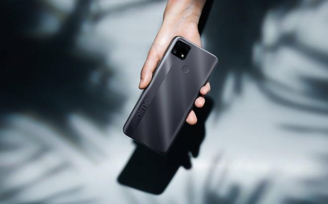 Realme C25 ra mắt tại VN: Thiết kế trẻ trung, cụm 3 camera 48MP, pin khủng 6000mAh, giá từ 4.69 triệu đồng - Ảnh 2.