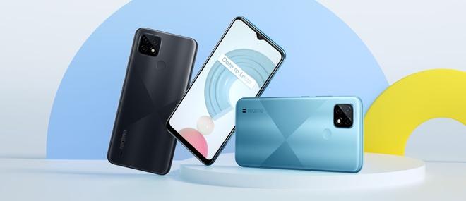 Realme C25 ra mắt tại VN: Thiết kế trẻ trung, cụm 3 camera 48MP, pin khủng 6000mAh, giá từ 4.69 triệu đồng - Ảnh 4.