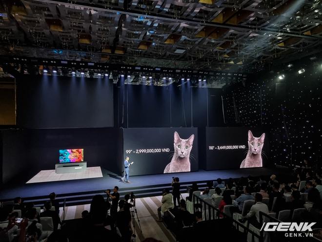 Dạo quanh sự kiện Tuyệt Tác Công Nghệ 2021: Samsung tung hàng loạt hàng khủng gia dụng, từ TV MICRO LED cho đến máy giặt AI - Ảnh 10.