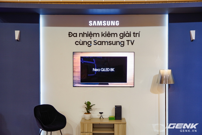 Dạo quanh sự kiện Tuyệt Tác Công Nghệ 2021: Samsung tung hàng loạt hàng khủng gia dụng, từ TV MICRO LED cho đến máy giặt AI - Ảnh 8.