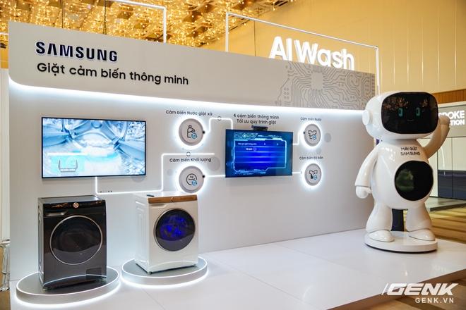Dạo quanh sự kiện Tuyệt Tác Công Nghệ 2021: Samsung tung hàng loạt hàng khủng gia dụng, từ TV MICRO LED cho đến máy giặt AI - Ảnh 12.