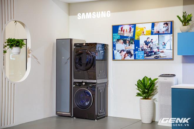 Dạo quanh sự kiện Tuyệt Tác Công Nghệ 2021: Samsung tung hàng loạt hàng khủng gia dụng, từ TV MICRO LED cho đến máy giặt AI - Ảnh 20.