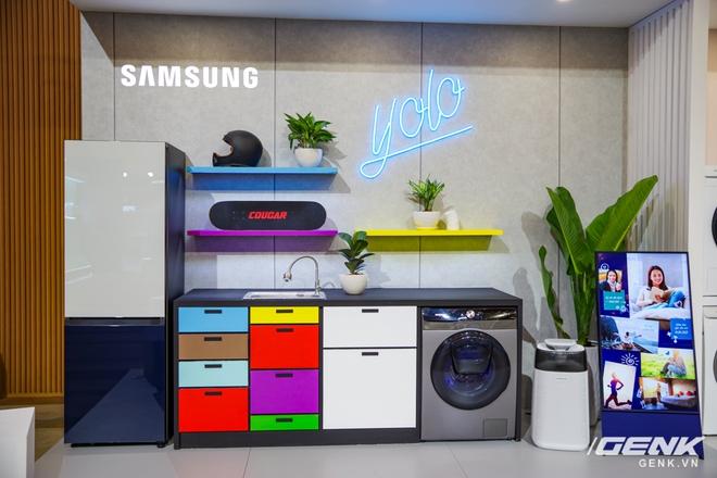 Dạo quanh sự kiện Tuyệt Tác Công Nghệ 2021: Samsung tung hàng loạt hàng khủng gia dụng, từ TV MICRO LED cho đến máy giặt AI - Ảnh 21.